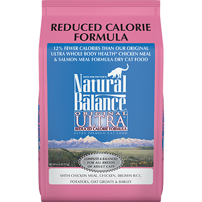 NATURAL BALANCE ULTRA CAT REDUCED CALORIE