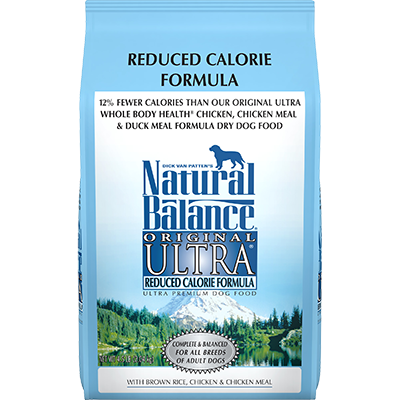 NATURAL BALANCE REDUCED CALORIE FORMULA