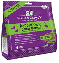 STELLA & CHEWY'S DUCK DINNER MORSELS FOR CATS