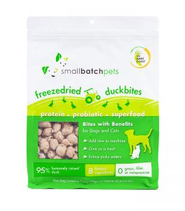 SMALLBATCH FREEZE DRIED DUCK BITES 7OZ