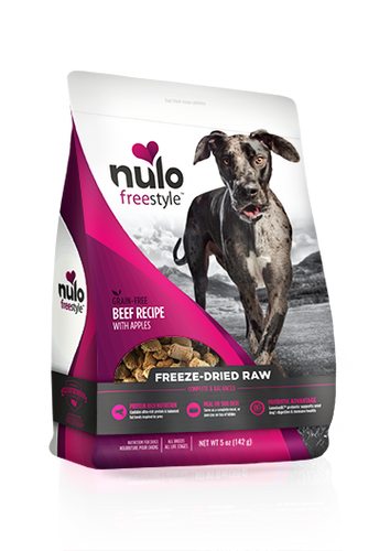 NULO FREEZE DRIED BEEF WITH APPLES