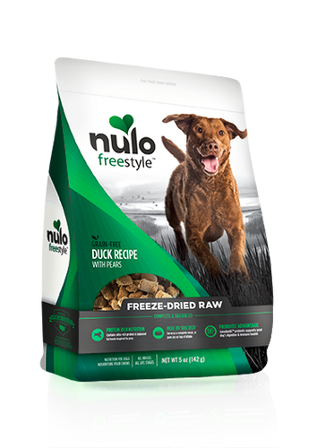 NULO FREEZE DRIED DUCK WITH PEARS