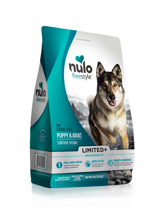 NULO LIMITED+ DOG SALMON RECIPE