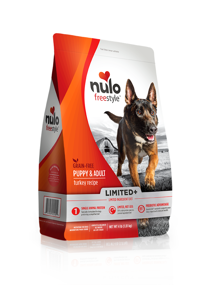 NULO LIMITED+ DOG TURKEY RECIPE