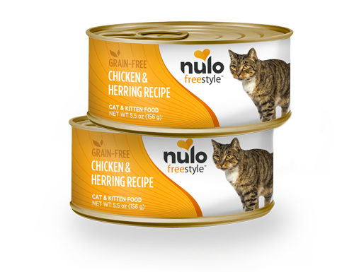 NULO FREESTYLE CAT CHICKEN AND HERRING 5.5OZ CAN