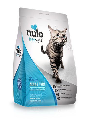 NULO FREESTYLE CAT ADULT TRIM SALMON AND LENTILS