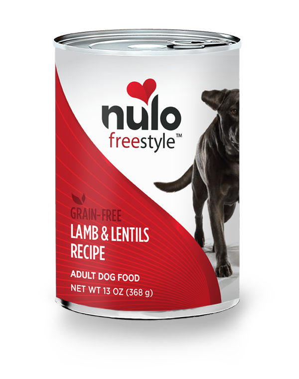 NULO FREESTYLE DOG LAMB & LENTILS 13OZ CAN