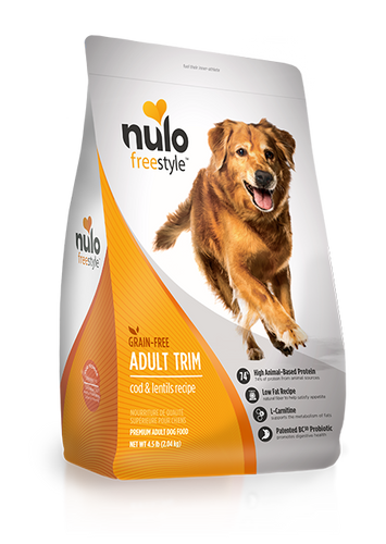 NULO FREESTYLE DOG ADULT TRIM RECIPE
