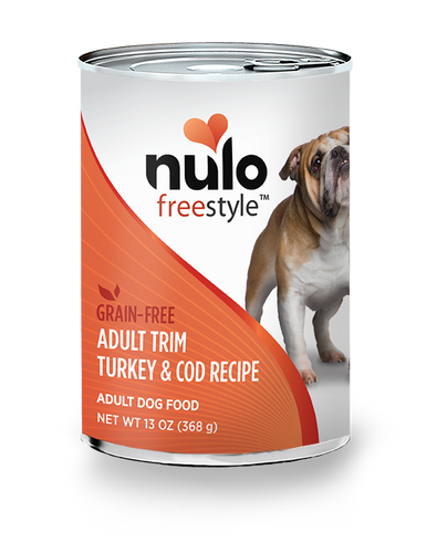 NULO FREESTYLE DOG ADULT TRIM TURKEY & COD 13OZ CAN