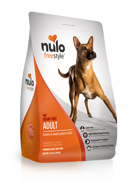 NULO FREESTYLE DOG ADULT TURKEY RECIPE