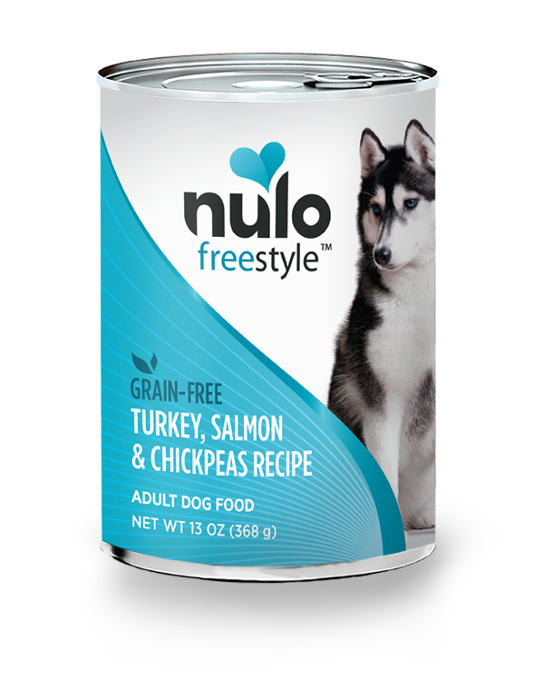 NULO FREESTYLE DOG TURKEY, SALMON & CHICKPEAS 13OZ CAN