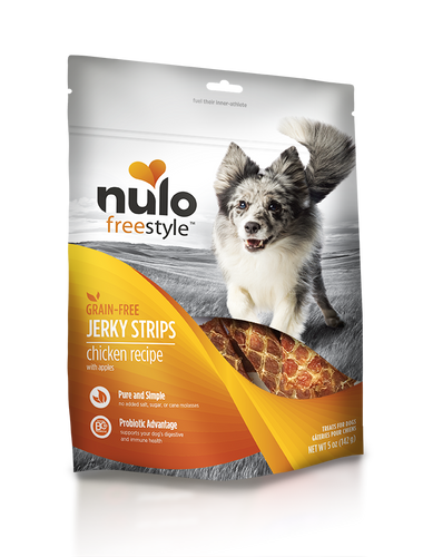 NULO JERKY STRIPS CHICKEN 5OZ
