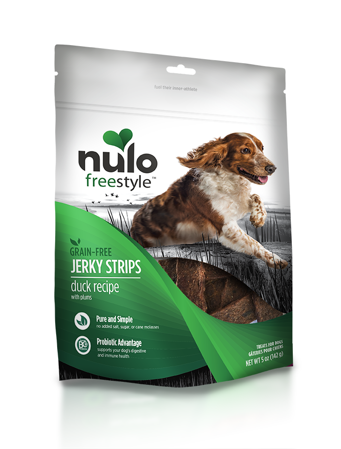 NULO JERKY STRIPS DUCK 5OZ