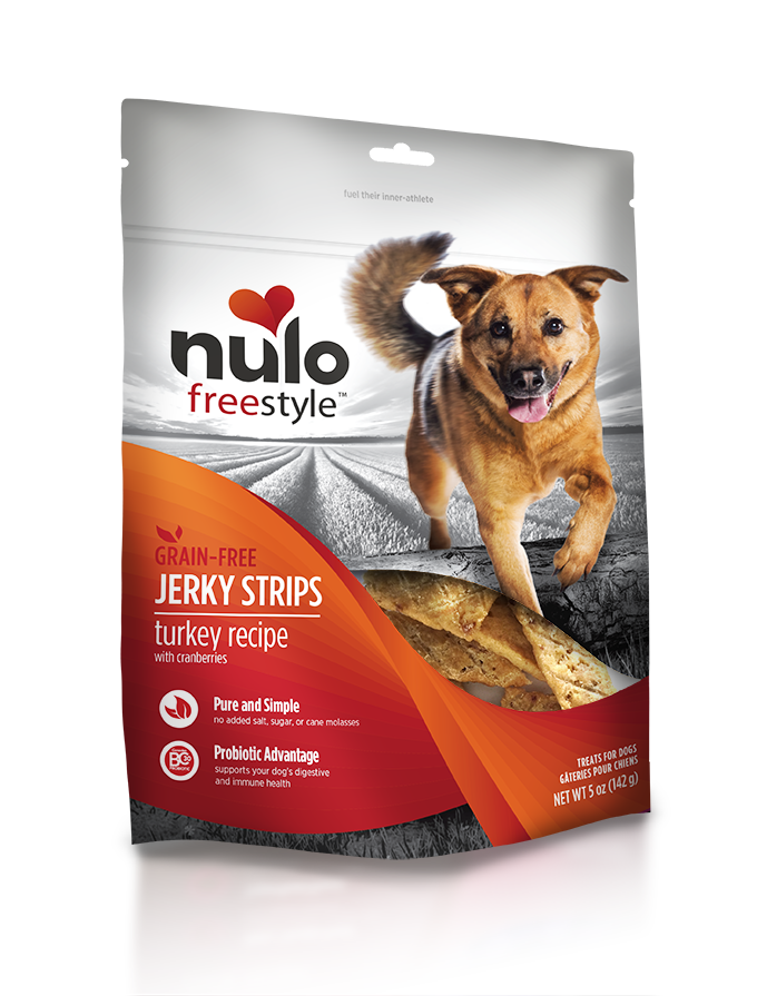NULO JERKY STRIPS TURKEY 5OZ