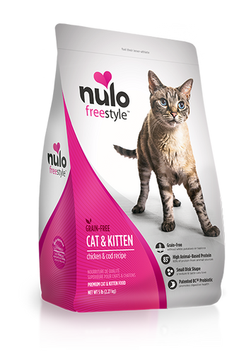 NULO FREESTYLE CAT & KITTEN CHICKEN AND COD