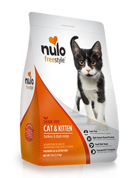 NULO FREESTYLE CAT & KITTEN TURKEY AND DUCK