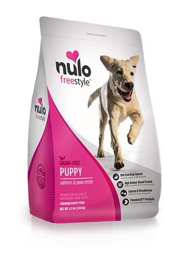 NULO FREESTYLE DOG PUPPY SALMON RECIPE
