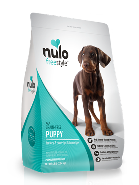 NULO FREESTYLE DOG PUPPY TURKEY FORMULA