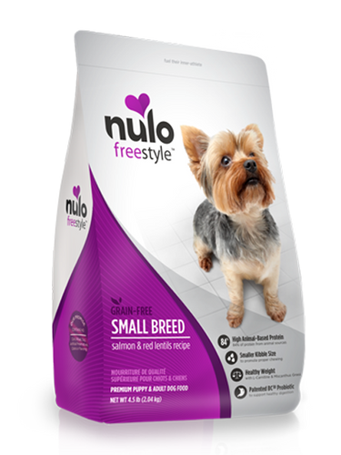 NULO FREESTYLE DOG SMALL BREED RECIPE