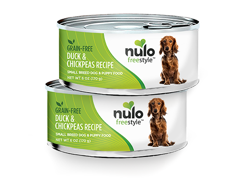 NULO FREESTYLE DOG DUCK & CHICKPEAS FOR SMALL BREEDS 6OZ CAN