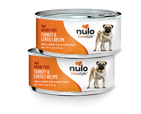NULO FREESTYLE DOG TURKEY & LENTILS FOR SMALL BREEDS 6OZ CAN