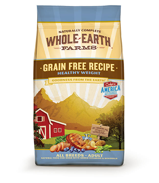 WHOLE EARTH FARMS GRAIN FREE RECIPE HEALTHY WEIGHT