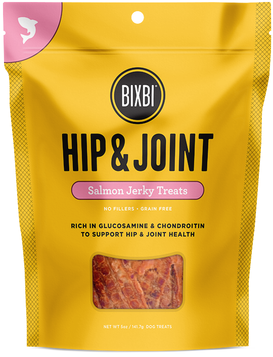 BIXBI HIP & JOINT SALMON JERKY TREATS