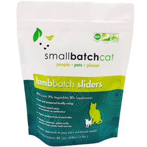 SMALLBATCH CAT RAW LAMB SLIDERS 3LB