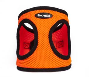 BARK APPEAL EZ WRAP STEP IN HARNESS NEON ORANGE