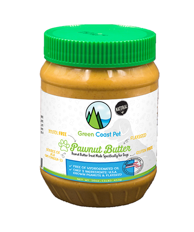 GREEN COAST PET PAWNUTBUTTER