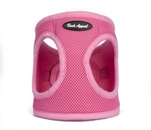BARK APPEAL EZ WRAP STEP IN HARNESS PINK