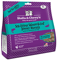 STELLA & CHEWY'S SALMON/COD DINNER MORSELS FOR CATS