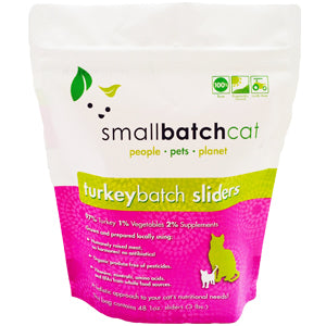 SMALLBATCH CAT RAW TURKEY SLIDERS 3LB