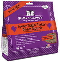 STELLA & CHEWY'S TURKEY DINNER MORSELS FOR CATS