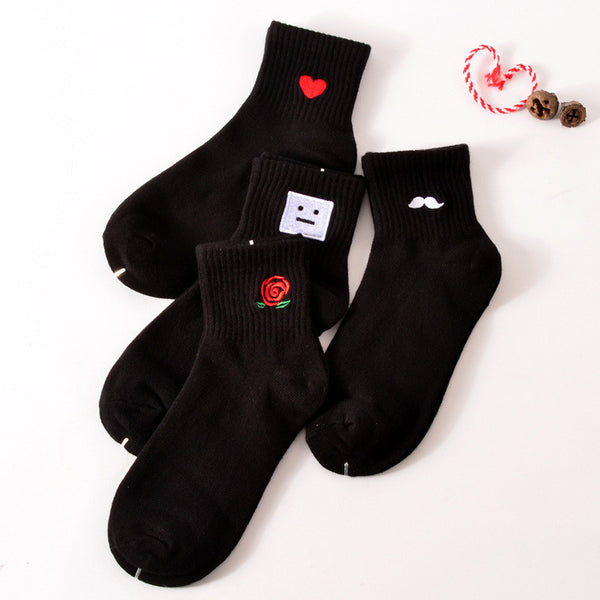 Unisex Cotton Socks - More than 3 Colors Available! -  socks - GALVATION