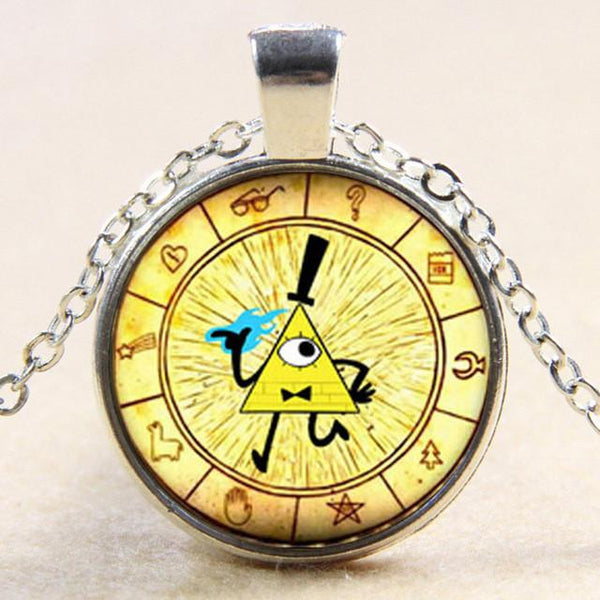 BILL CIPHER Illuminati Necklace -  watches - GALVATION