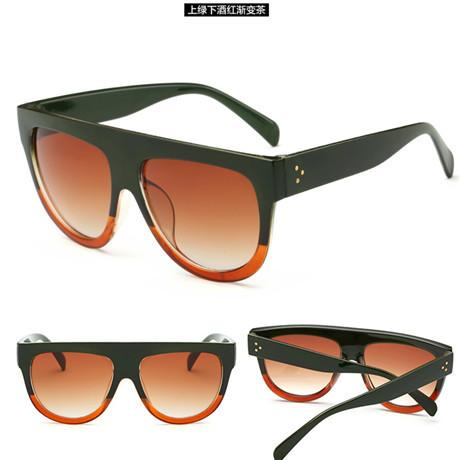 Flat Top Mirror Sun Glasses - Cat Eye Sunglasses - 10 Styles Available! -  sunglasses - GALVATION