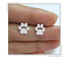 Cat and Dog Paw Necklace -  Necklace - GALVATION