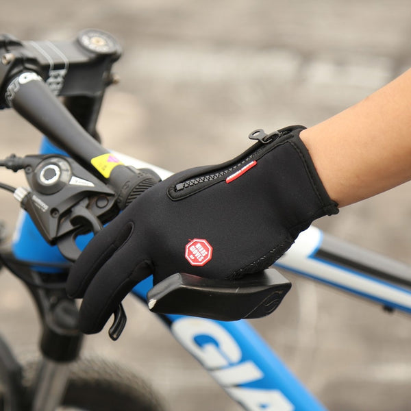 lightweight waterproof cycling gloves with touch screen -  gloves - GALVATION