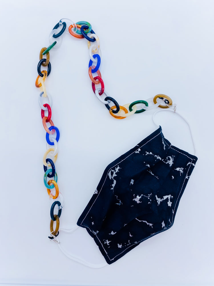 Multicolor Acrylic Mask Chain