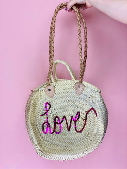 Love Straw Bag