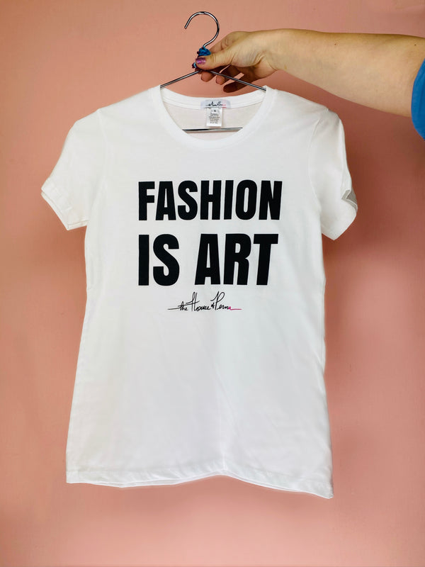 Fashion is Art Tee