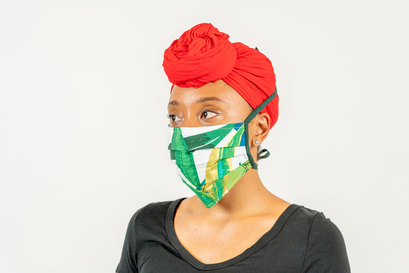 SALE 60% off! Washable Face Masks With Ties