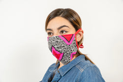 SAME DAY SHIPPING! Washable Face Mask With Ties- BUY 1 - DONATE 1