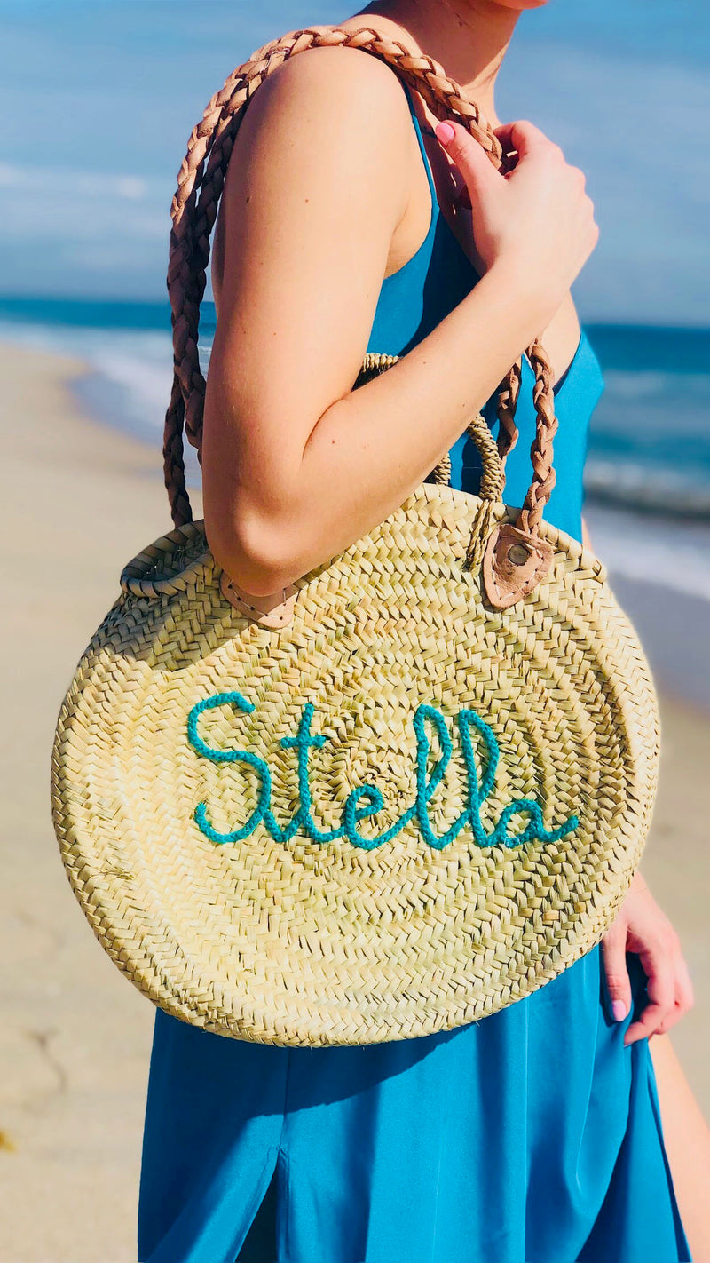 Nelly Customizable Round Tote