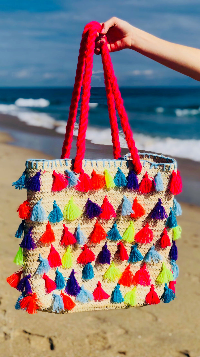Neon Athena Rectangle Tote
