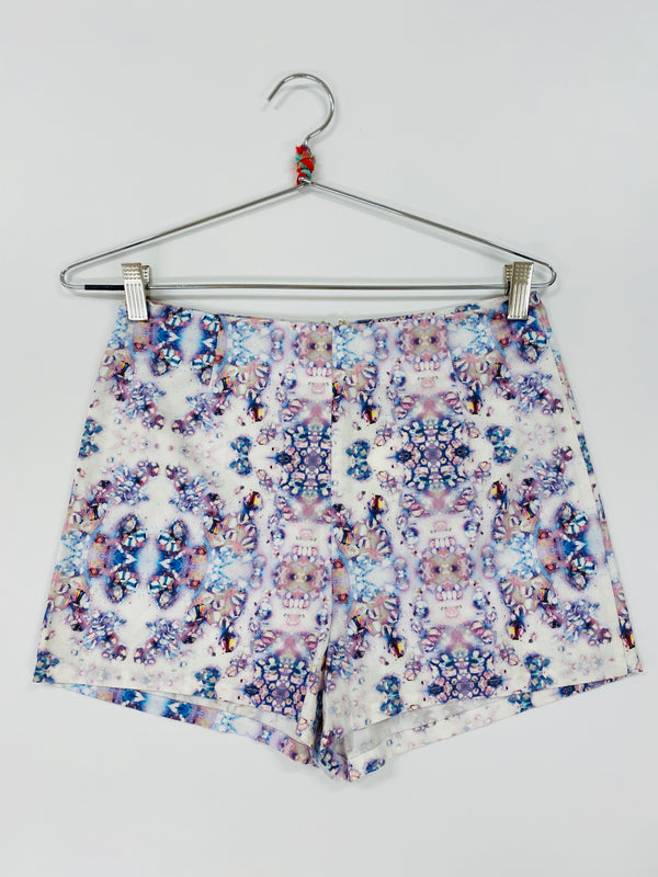 High Waisted Mini Short