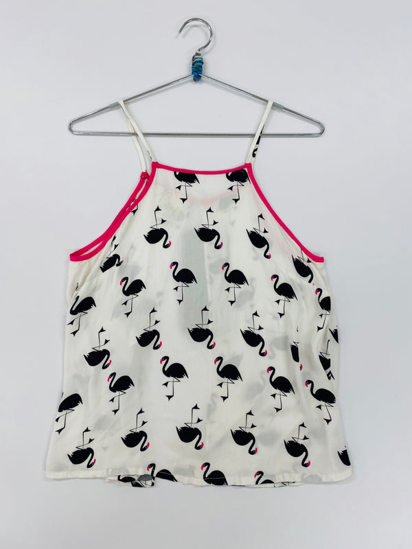 Flamingo Open Back Tank