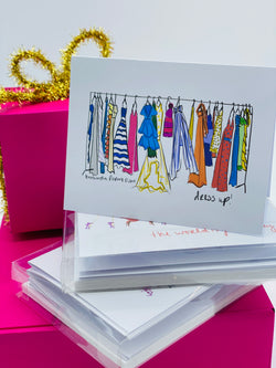 Dress Up! Note Card