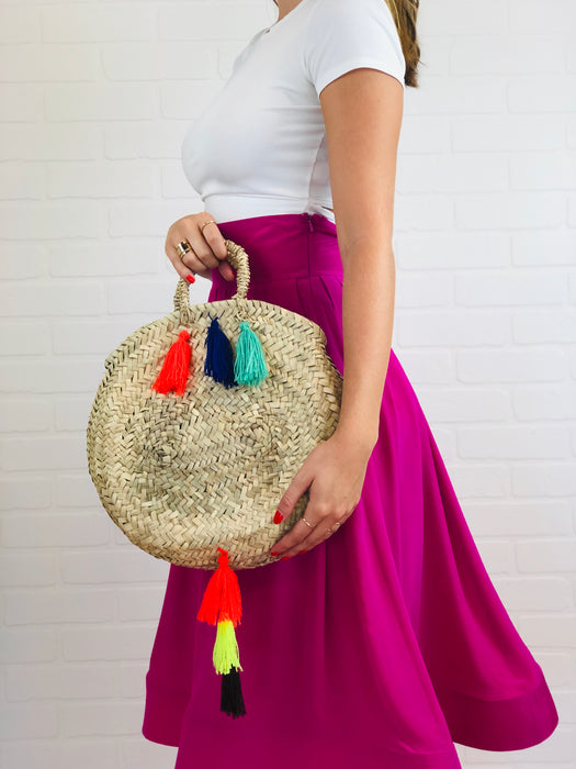 Sara Small Tassel Bag